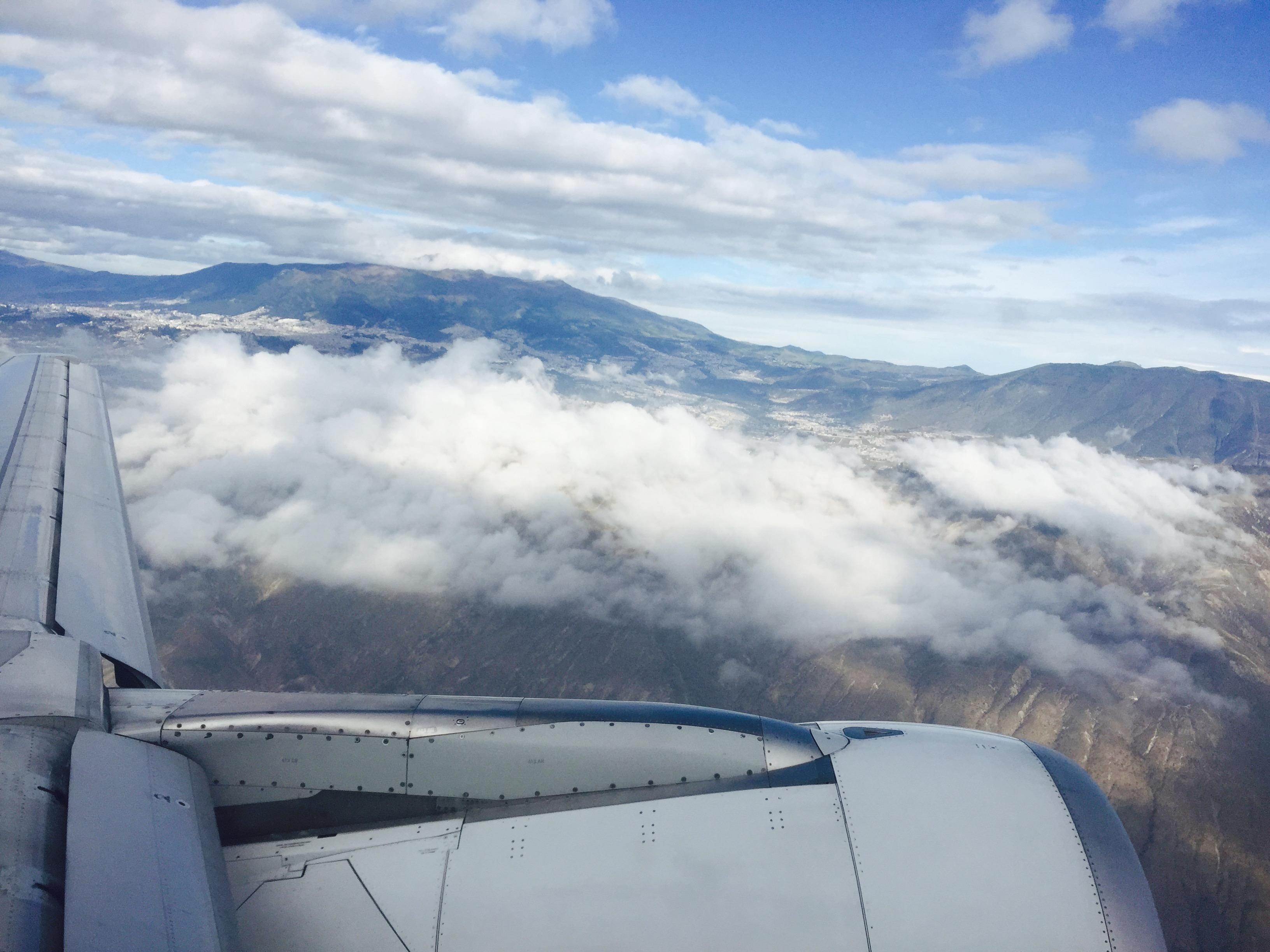 Ein letzter Blick auf Quito